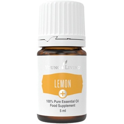 Lemon+ youngliving essential oils oily animals drinks food