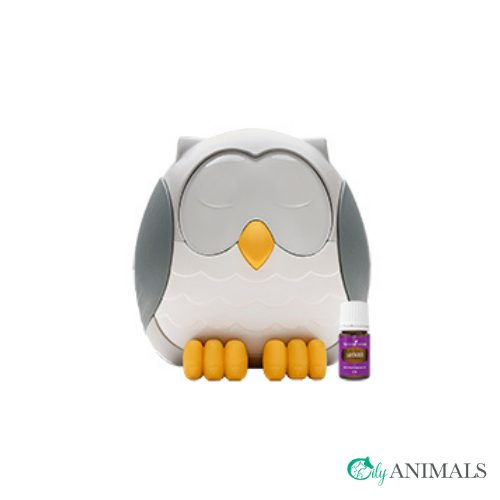 Young Living Feather the owl diffuser met flesje Lavender