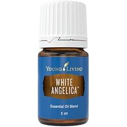 White angelica young living essentieële olie bescherming aura, hartchakra
