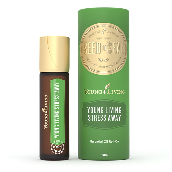 stress away roll on young living essentiële olie stress roller flesje