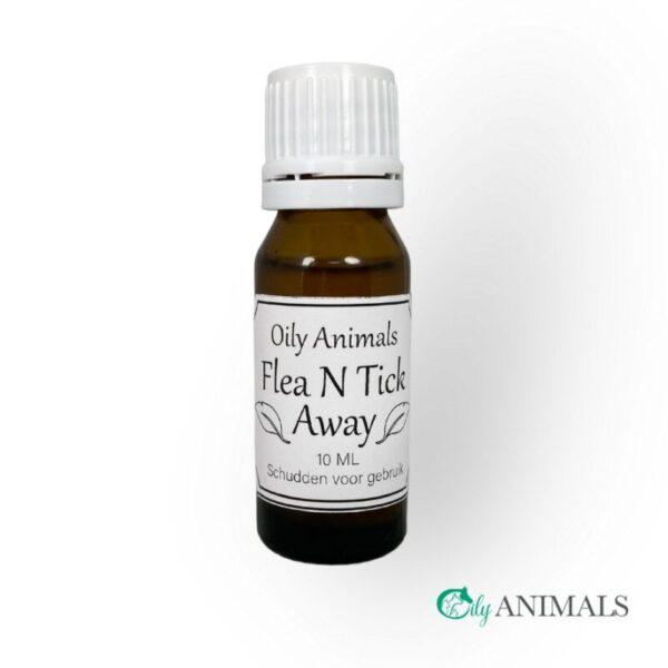Fea N Tick Away natuurlijke anti vlooien en teken middel oily animals