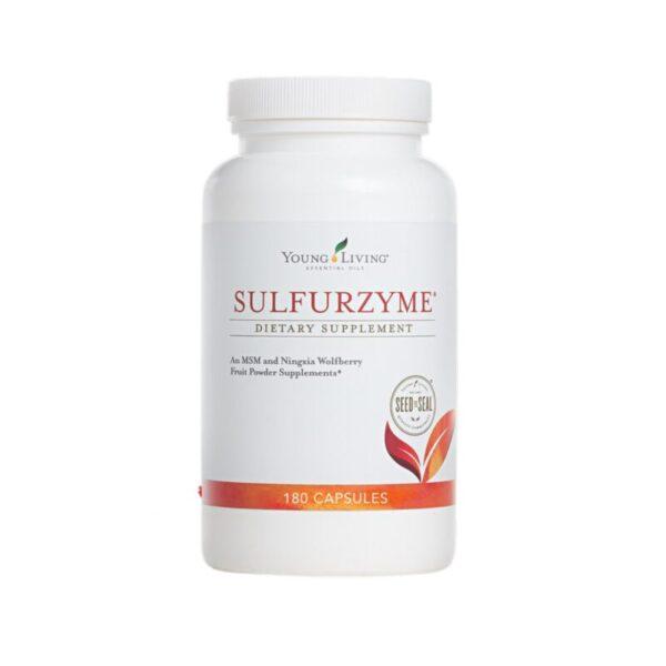 Sulfurzyme MSM weefsel/spier ondersteuning young living supplementen Oily animals