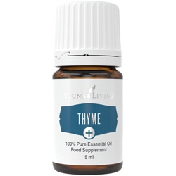Thyme essentiële olie young living ontstekingsremmend oily animals kruiden