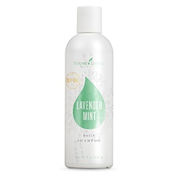 Lavender mint daily shampoo gevoelige droge hoofdhuid young living oily animals